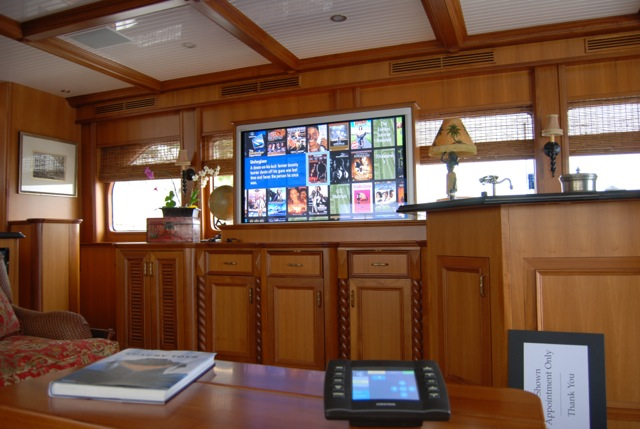 Custom Woodwork Entertainment Center