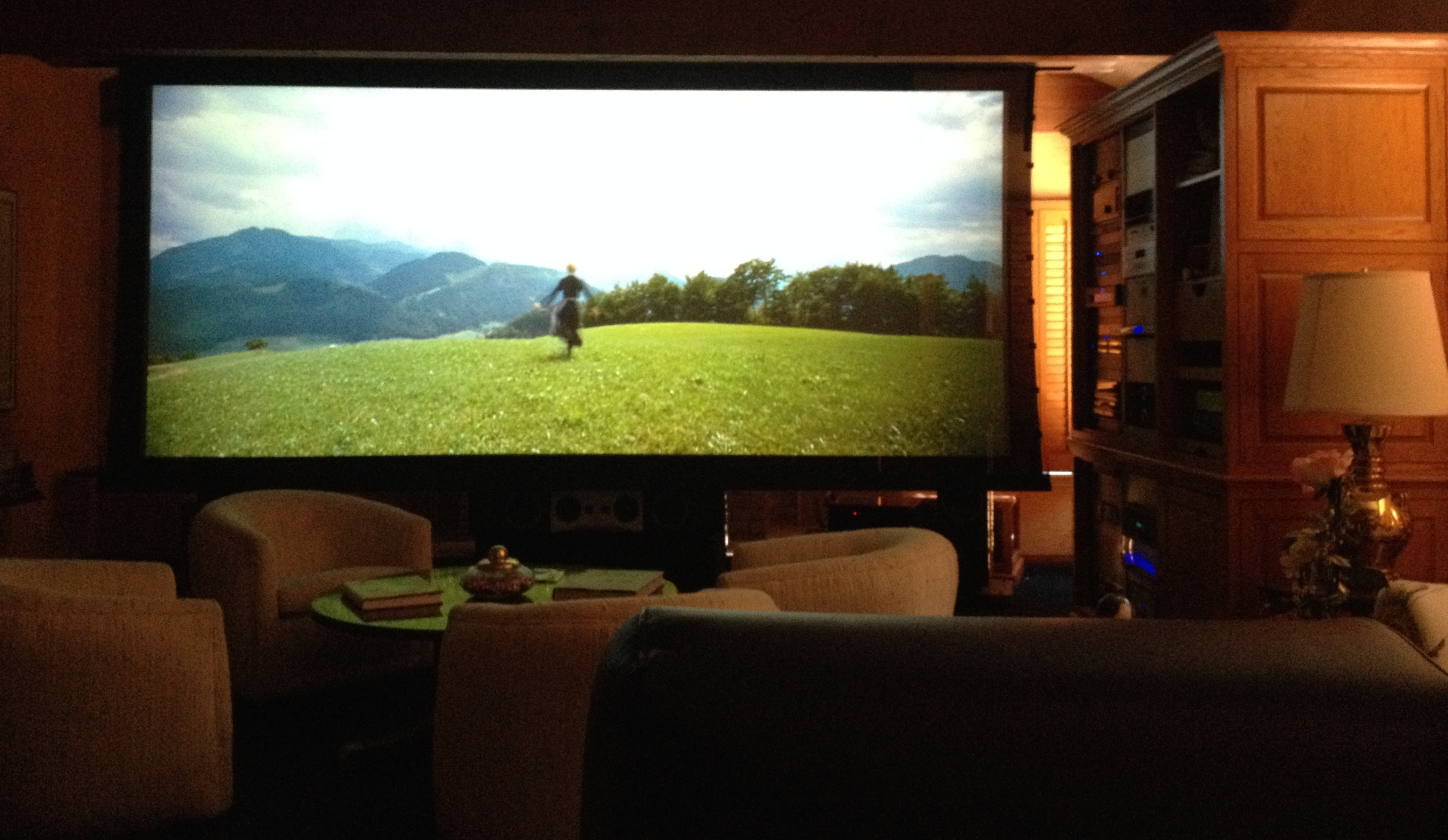 Project home theater system